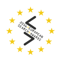 2016 European search awards logo