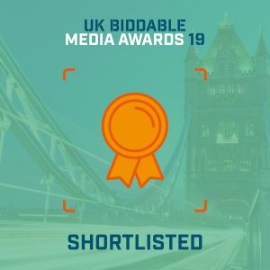 MediaVision has been nominated for Retail Campaign of the Year in the Biddable Media Awards 2019