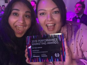 MediaVision wins a performance Marketing Award